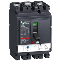 Силовой автомат Schneider Electric Compact NSX 100, TM-D, 25кА, 3P, 80А